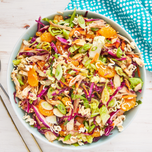 Crunchy Mandarin Orange-Chicken Salad