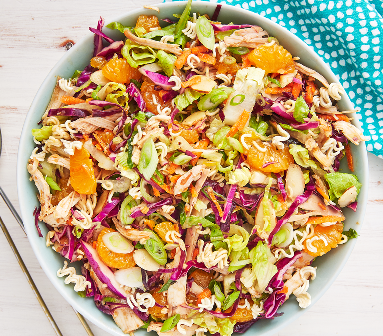 Crunchy Mandarin Orange-Chicken Salad