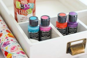 Colorful Drawer Desk Organizer