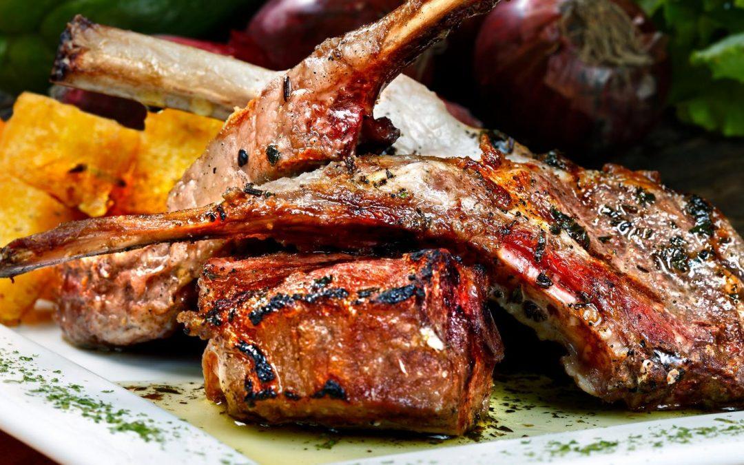 August Lamb Challange Recipe- BBQ Lamb Rib