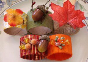 Thanksgiving Napkin Rings