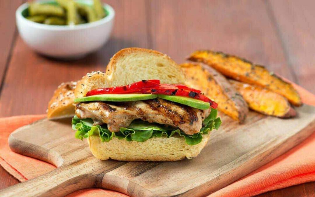 Asian Grilled Chicken Sandwich