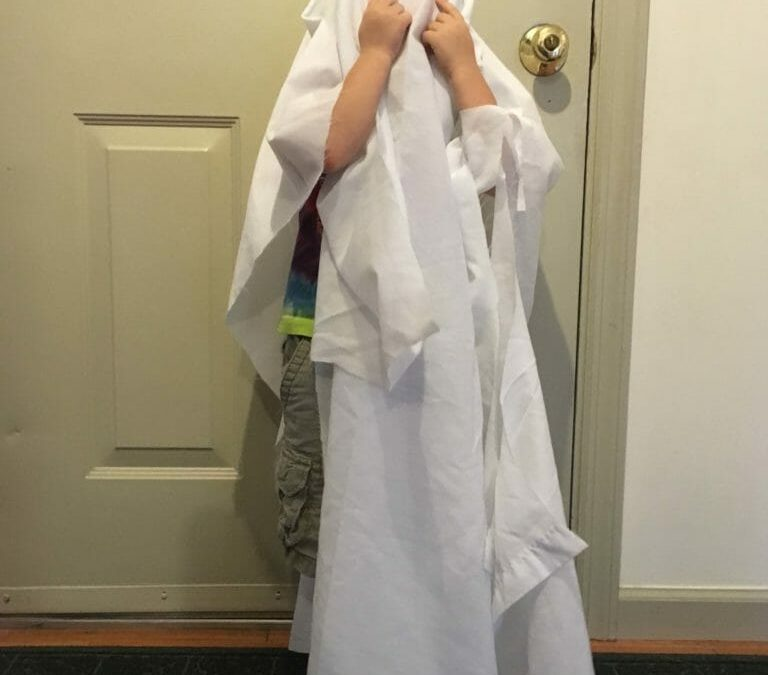 How To Make A Ghost Costume (It's Harder Than You'd Think!)