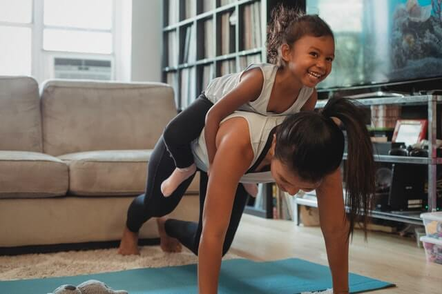 Be A Role Model - 7 Tips for Getting Your Children into Exercise
