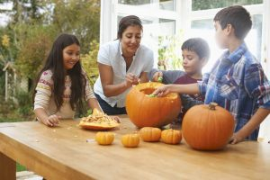 How to Host a Family Pumpkin Carving Night