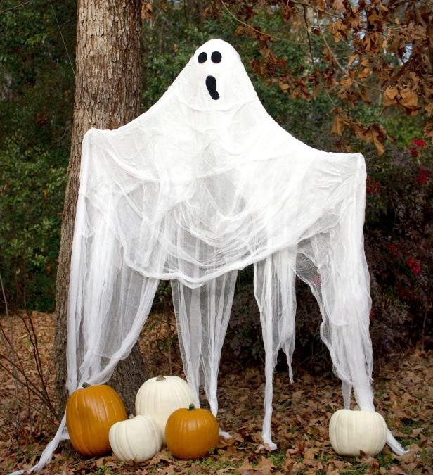 How to make a life-size Halloween ghost